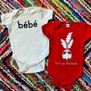 Hipster Baby Onesies